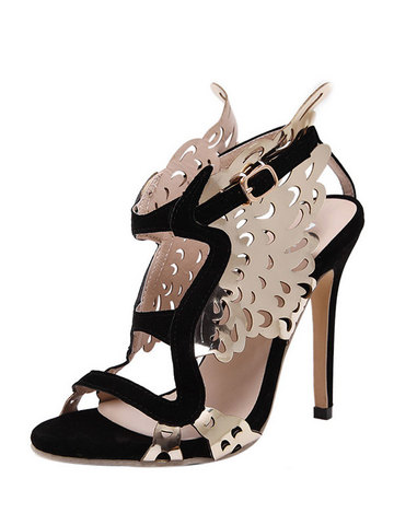 Angel Wing Exquisite Thin Heel Charming Sandals