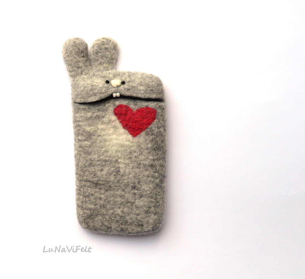 Cute Felt iPhone Case
