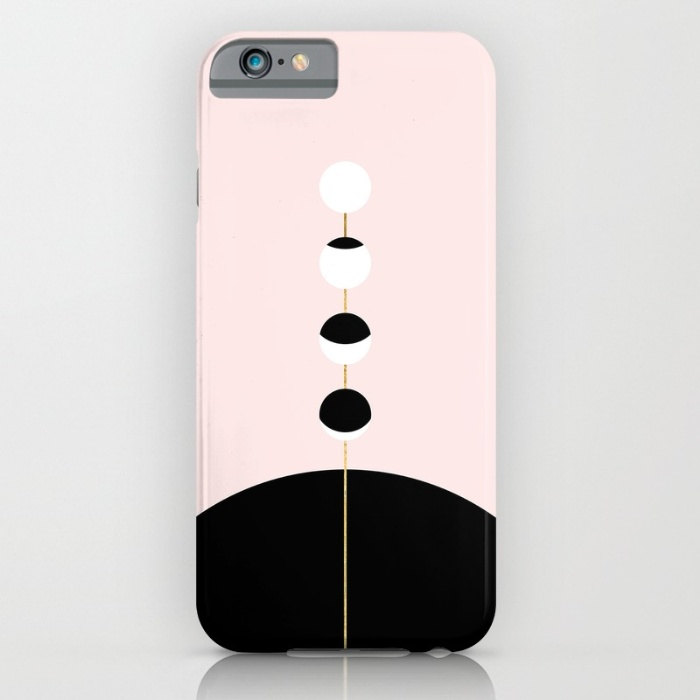 Exclusive Pink and Black iPhone Case