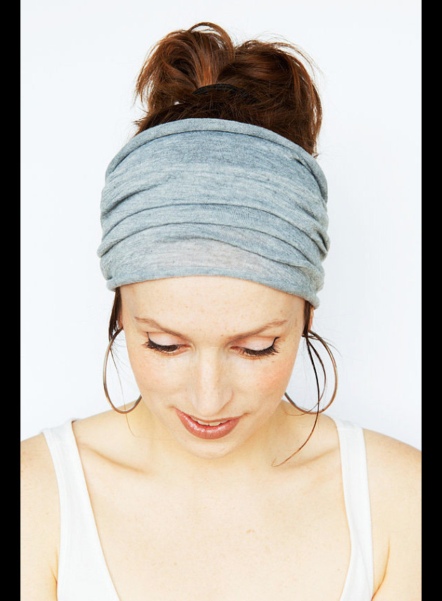 Grey Sport, Fitness, Yoga Headband