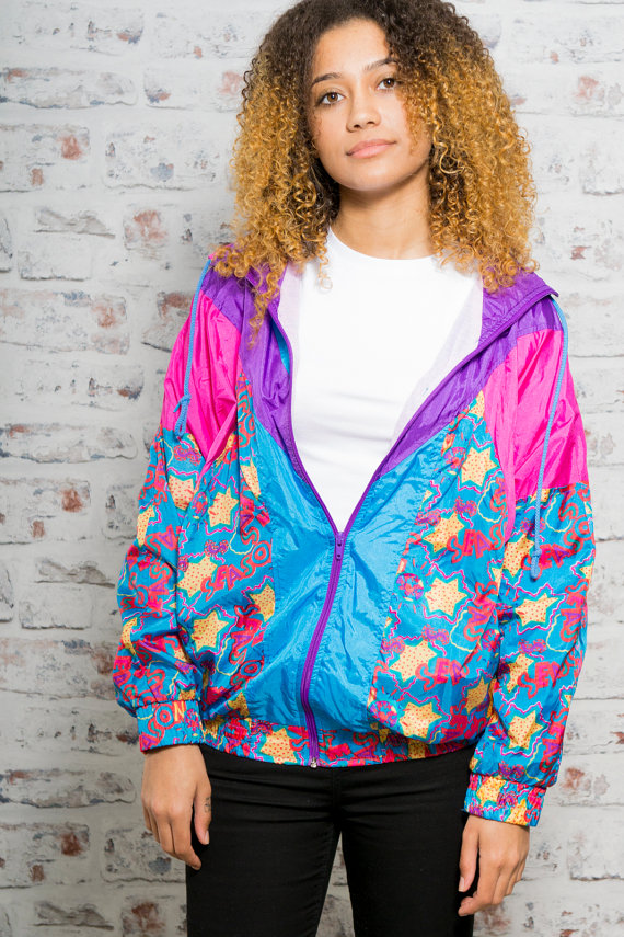 Colorful Bomber Festival Jacket