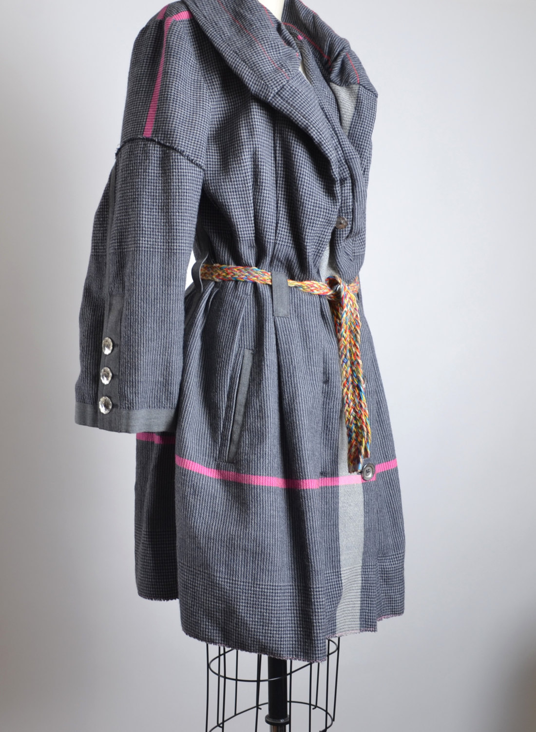 Vintage Funky Style Long Spring Jacket