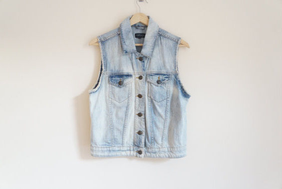 TOP-SHOP Vintage Jeans Jacket