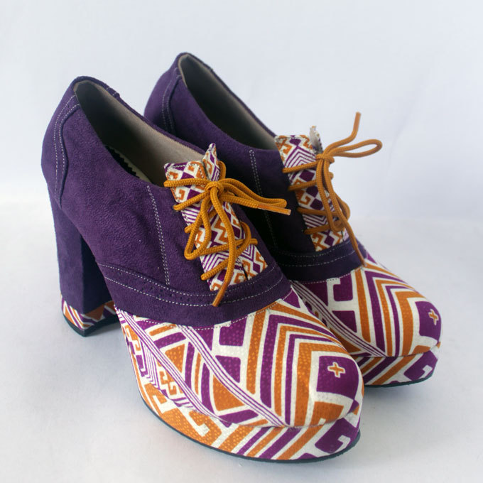 Handmade Colorful Ankle Boots