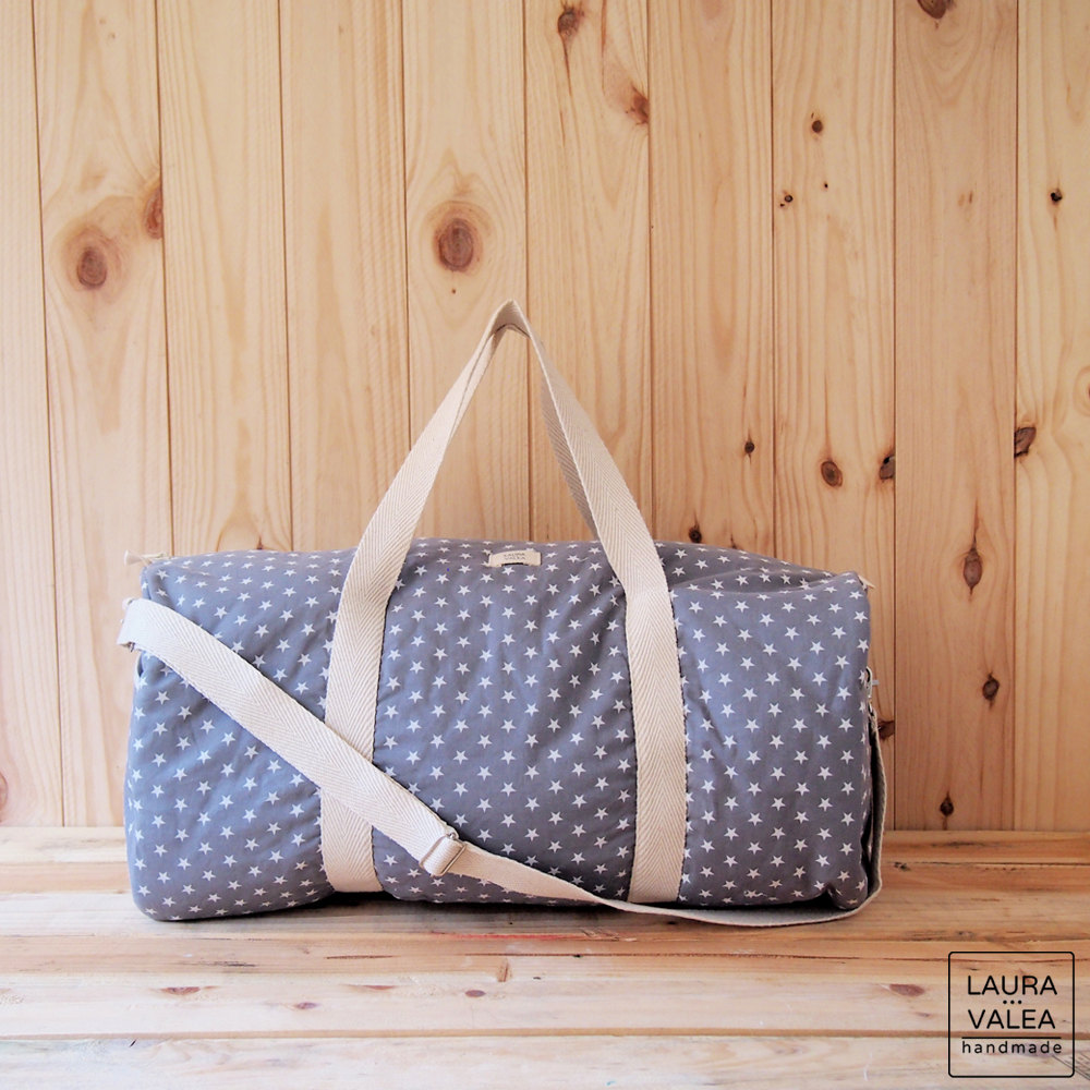 """Star gray"" Sport & Travel Bag"
