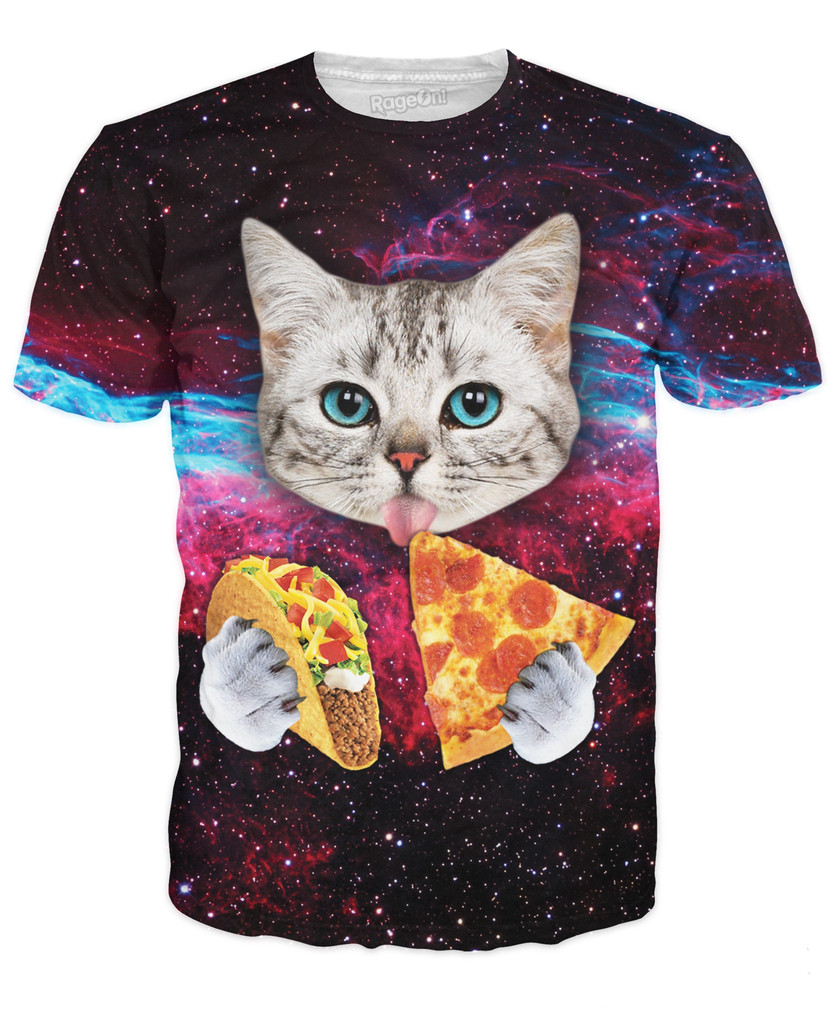 Space Taco Cat T-Shirt