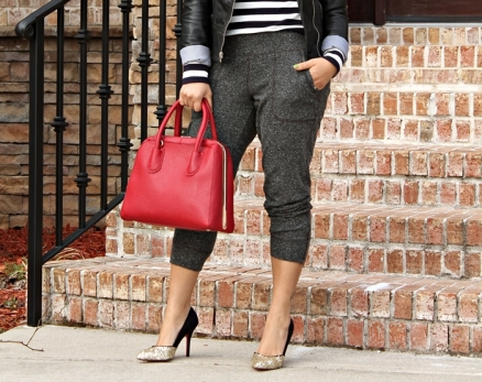 Style Me Friday: Sweatpants and High Heels